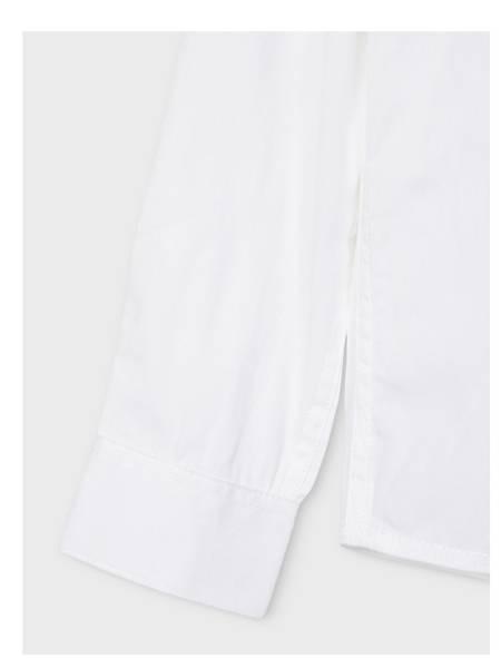 Bilde av NkmFred s Slim Shirt - Bright White