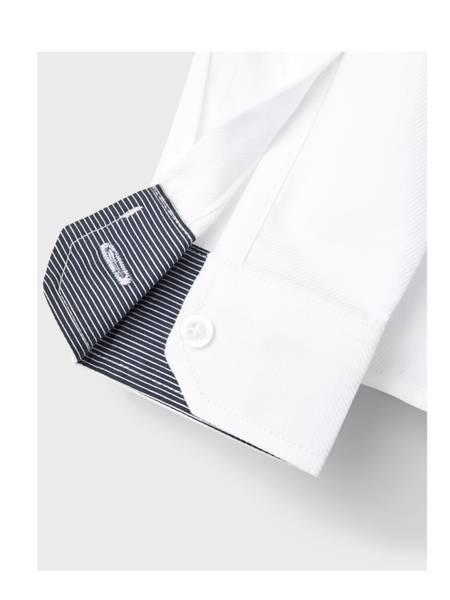 Bilde av NkmRiran ls Shirt - Bright White