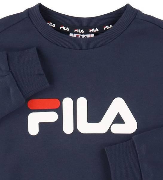 Bilde av FILA Teens Unisex Violo Logo Crew Sweat - Black