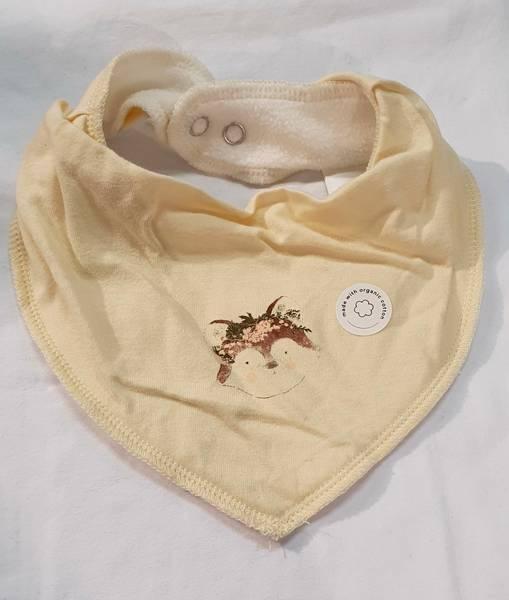Bilde av NbfYvetteocilie scarf bib - Whitecap Grey