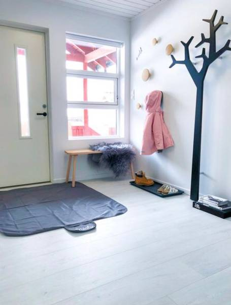 Bilde av Tinkafu gulvmatte 90x145cm - Sort