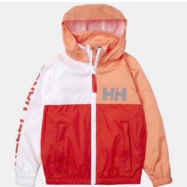 Bilde av HH K Active Rain Jacket - Cherry Tomato