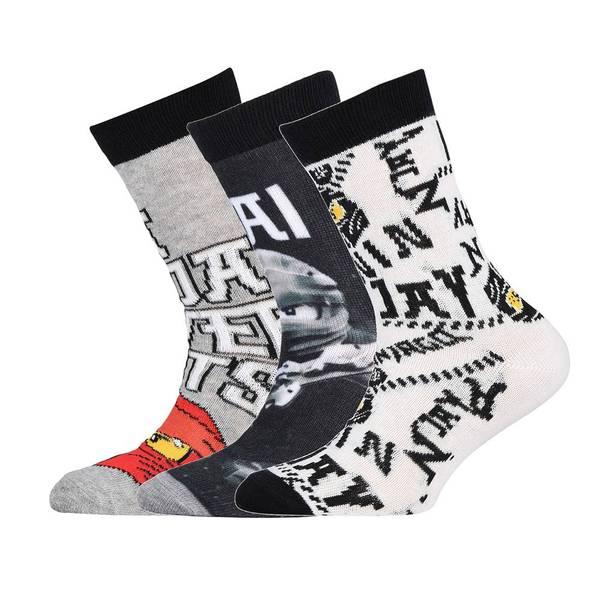 Bilde av Ninjago 3-pk sokker - Black