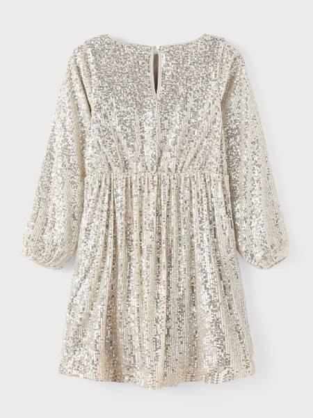 Bilde av NkfRantela ls dress - Silver Colour