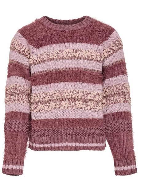Bilde av KonAdelle l/s pullover knit - Rose Brown