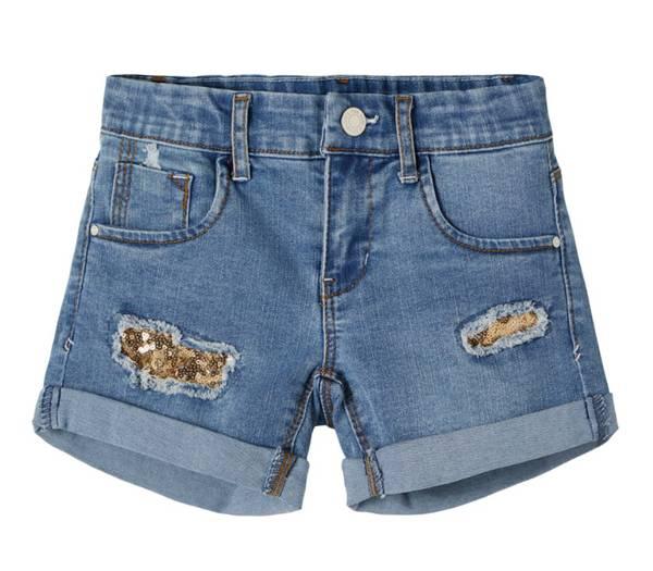 Bilde av NkfSalli dnmteces shorts - Medium Blue Denim