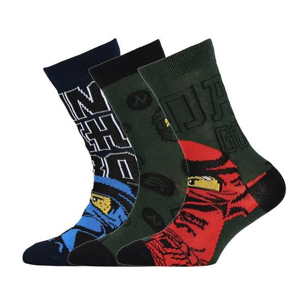 Bilde av Ninjago 3-pk sokker - Dark Green