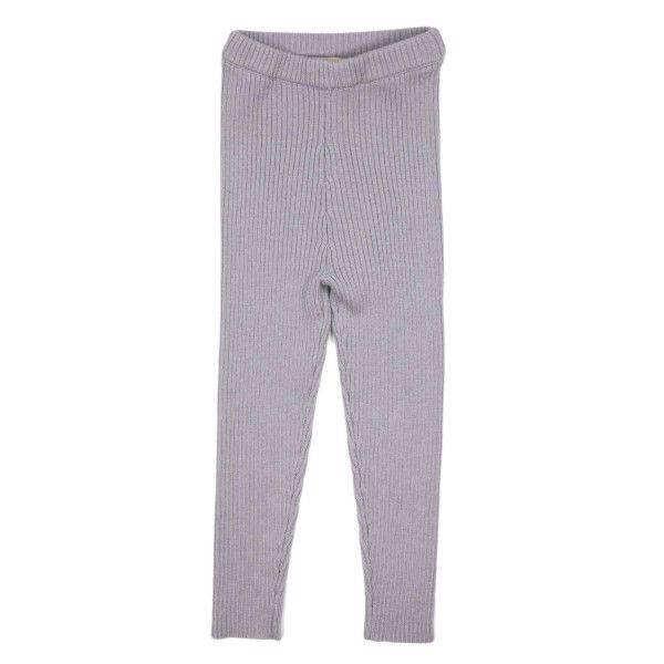 Bilde av MeMini Patent Legging - lavendel grey