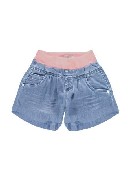 Bilde av NmfBecky dnmTollys 1501 shorts - Light Blue Denim