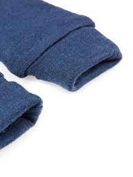 Bilde av Nbmwillit wool mittens uten tommel - Dress Blues