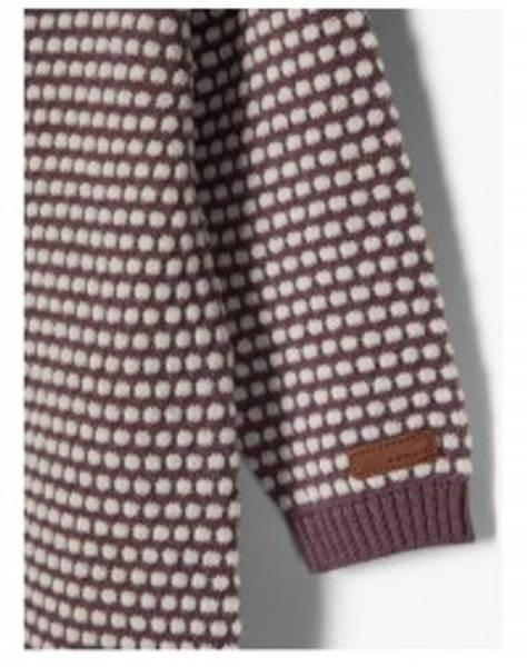 Bilde av Name It nbfwhopla wool ls knit suit - Flint