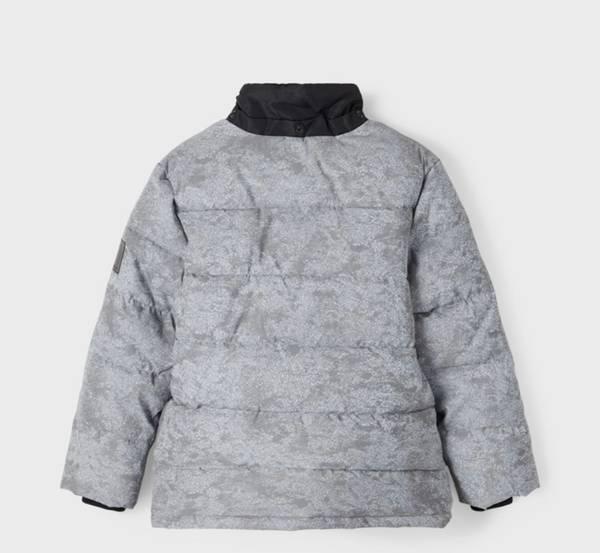 Bilde av NkmMike Reflective Jacket Boy - Frost Gray